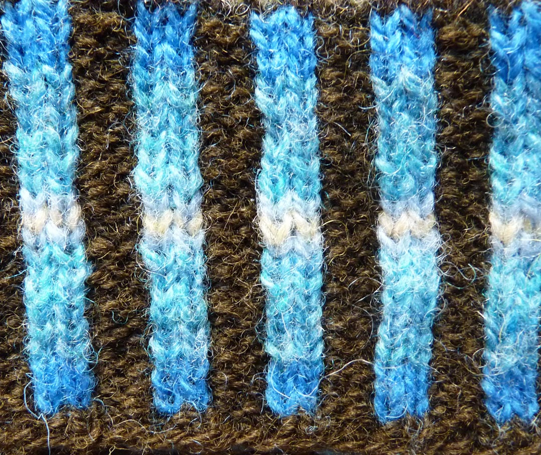 Feral Knitter: Corrugated Rib
