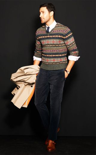 RL Polo mensfairisle