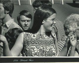 1971 India Print Dress