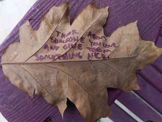 LeafWithMessage